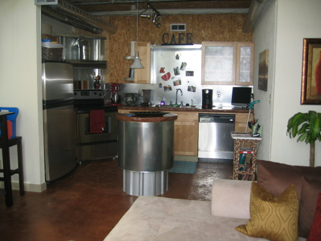 View Of The Kitchen From Living Area